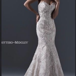 Sottero and Midgley Zinnia Ivory Wedding dress